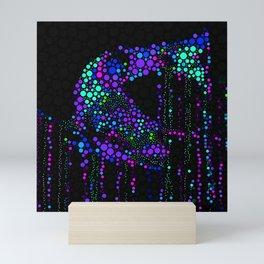 FISH ABSTRACT MOSAIC Mini Art Print