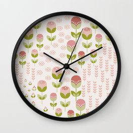 Le Jardin Collection Wall Clock