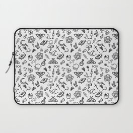Modern Witch - White Laptop Sleeve