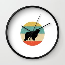 Komondor Dog Gift design Wall Clock