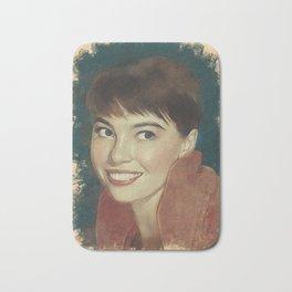 Leslie Caron, Movie Legend Bath Mat