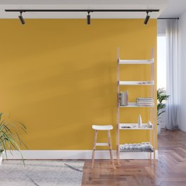 Best Seller Bright Golden Yellow Inspired Coloro Mellow Yellow 034-70-33 Wall Mural