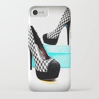 shoe iPhone & iPod Cases featuring Shoe Lust by 2sweet4words Designs