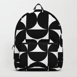 Geo Black Backpack