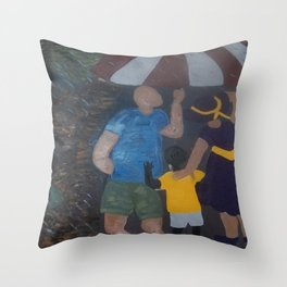 Sheltered From The Storm  Throw Pillow