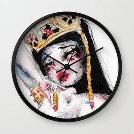 The Ruby Queen Wall Clock