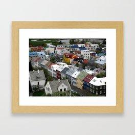 Reykjavik, Sweet. Framed Art Print