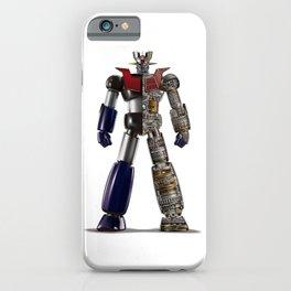 Mazinger Z Schematic iPhone Case