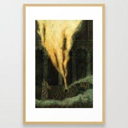 The Djinn Framed Art Print