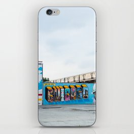 Chicago El and Mural iPhone Skin