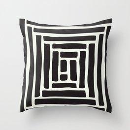 Geometric Tile Network Throw Pillow