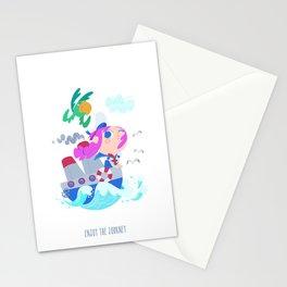 Enjoy the journey Stationery Cards