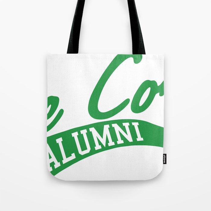 Corp Alum (Green) Tote Bag