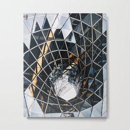 Basic Elements and the Infinite Vortex Metal Print