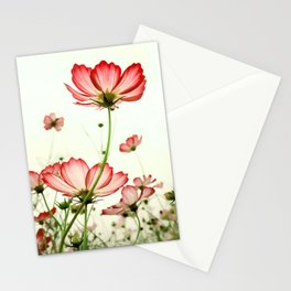 TENDER RED BLOSSOMS Stationery Cards