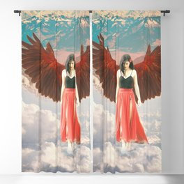 Lady of the Clouds Blackout Curtain