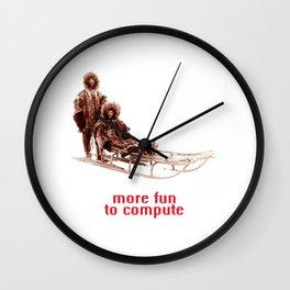 - more fun to compute - Wall Clock