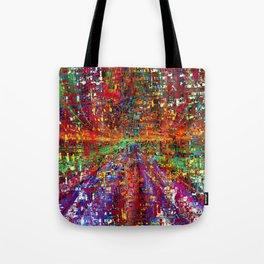 colourful peace Tote Bag