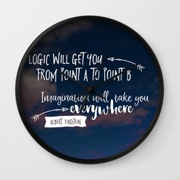 everywhere Wall Clock