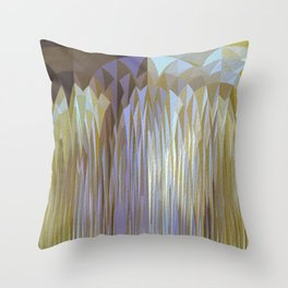 Icy Blast Throw Pillow