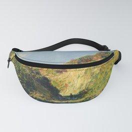 """Claude Monet """"Le chemin creux"""" """"(The hollow road)"""" Fanny Pack"""