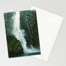 Milford Sound Waterfall Stationery Cards