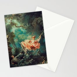 "Jean-Honoré Fragonard ""The Swing"" Stationery Cards"