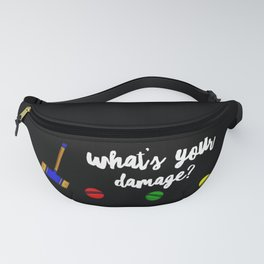 What's Your Damage Fanny Pack