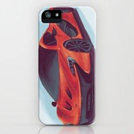 McLaren P1 - Orange  iPhone Case