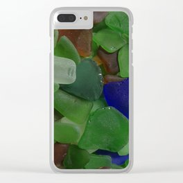 Sea Glass Clear iPhone Case