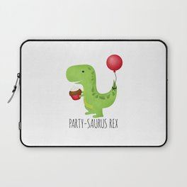Party-Saurus Rex Laptop Sleeve