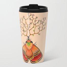 tree moth (ORIGINAL SOLD). Travel Mug