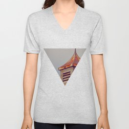 Rusted Rooftop Unisex V-Neck