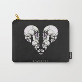 Skullheart - love kills s/w Carry-All Pouch