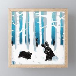 Zoo Bizarre l Winter 2019 Framed Mini Art Print