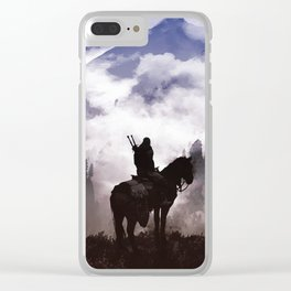 A lifetime of adventure Clear iPhone Case