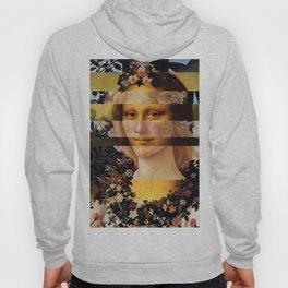 Leonardo's Mona Lisa & Botticelli's Flora Hoody