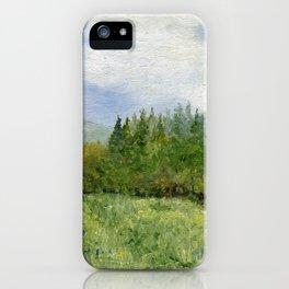 Underhill Fields iPhone Case