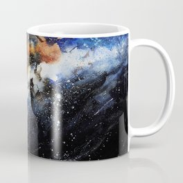 Galaxy X Whale Coffee Mug