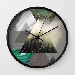 Triangles Symphony Wall Clock