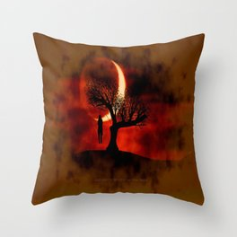 GOOD NIGHT TO DIE - 039 Throw Pillow