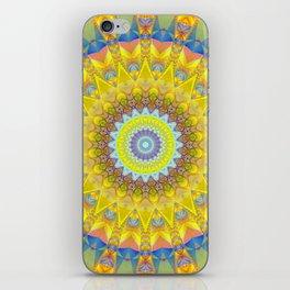 Mandala sun 2 iPhone Skin