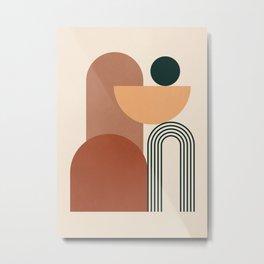 geometric abstract 61 Metal Print