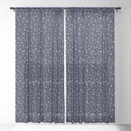 STAR NIGHT Sheer Curtain