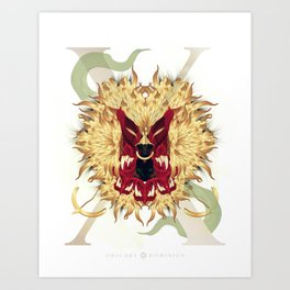 Visceral Nobility Art Print