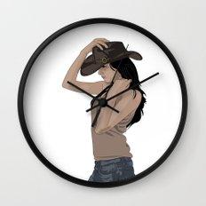 Susie Sureshot Wall Clock