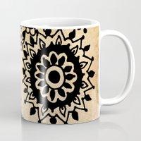 yin yang Mugs featuring Yin Yang by Jenndalyn