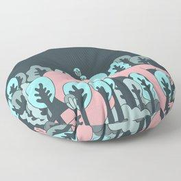 forrest Floor Pillow