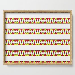 Funnies stripes I Serving Tray