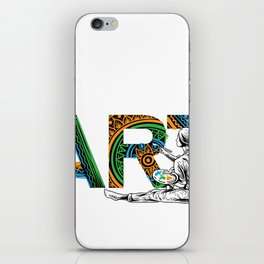 Eat Sleep Art Repeat Artist I arted Art Teacher iPhone Skin